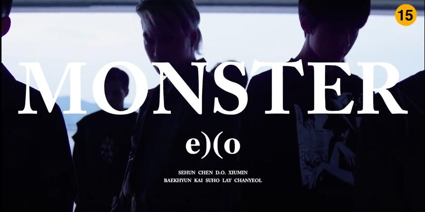 ★ EXO 'MONSTER'   獲獎時間:2016 年 6 月 19 日  * 無法播放時,請直接按出處