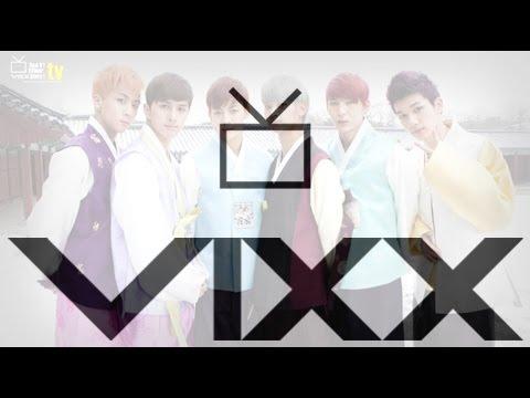 穿韓服特別演出的不只BTS,VIXX還特別選了場地演出呢?(但場地真的太難跳連成員都紛紛笑場了拉~