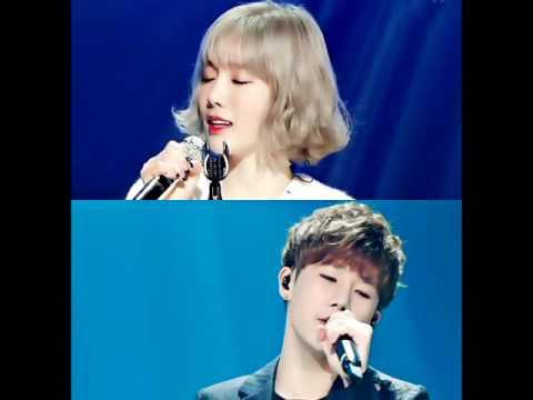 韓國網友將兩人翻唱的音檔合成,變成了全新一首男女合唱歌曲!一起來聽聽太妍和聖圭兩人合唱版的〈Time Walking On Memory〉吧~~  * 無法播放時,請直接按出處