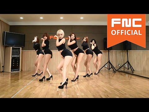 7位 AOA - Like a Cat_Dance Practice Full ver  點擊數 15,094,697 太性感了...><