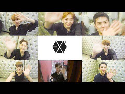 EXO出道五年的紀念影片 也沒有LAY 2/26 離開韓國參加中國個人頒獎 5周年粉絲信活動也獨自不參加