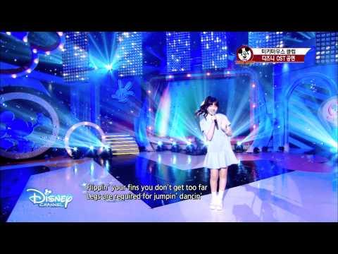 Herin還是SM ROOKIES成員身份時,曾參與SM與迪士尼合作的節目。SM ROOKIES的8為成員高恩、Mark、Hina、Jeno、東赫、渽民、志晟、Herin、Lami參與。節目中成員們會演唱迪士尼動畫的主題曲,Herin的歌唱實力真的超威,不愧是SM的下一代主唱人選