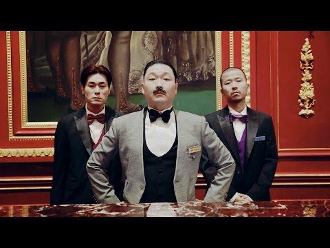 即使在歐美也相當有知名度,Psy大叔每回拍攝MV擔綱演出的女主角「Psy女郎」都會掀起話題,而這回Psy 的慧眼仍舊沒有識錯人,找來APINK門面娜恩主演MV,展現娜恩有別於團體形象中的「冷豔性感」一面,果然獲得好評