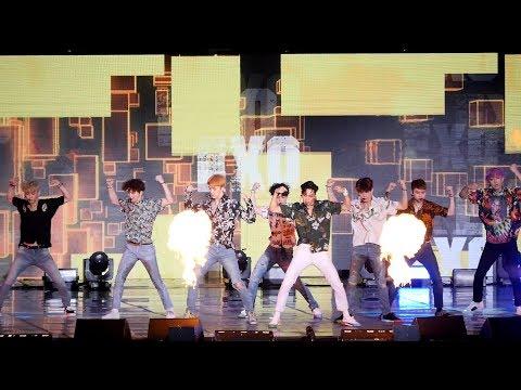 EXO ─ Ko Ko Bop EXO-L的應援聲不是蓋的阿~~~~不過,EXO身上的花襯衫超挑人啊,沒有顏值絕對撐不起來!
