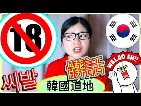 最後,宅精靈加碼分享一下道地的韓文髒話教學XD,提醒大家出門在外別亂用啊!小心被打XDD (認真,別亂用好嗎...)