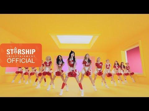 原練習影片:[Performance MV] 우주소녀(WJSN)_HAPPY