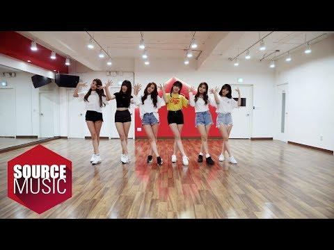原練習影片:여자친구 GFRIEND - 귀를 기울이면 (LOVE WHISPER) Dance Practice ver.