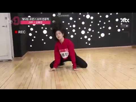 就來看看申柳真在《MIXNINE》精湛的舞蹈實力吧!!!