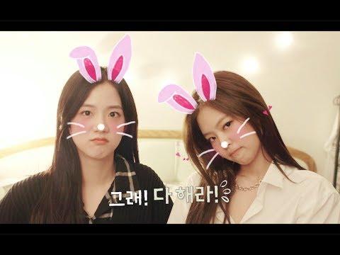 *Jisoo & Jennie姊姊Line版的預告 預告裡面BLACKPINK的粉紅小屋,還有成員們必須自給自足的生活,更有粉絲拍到BLACKPINK前往勝利的拉麵,所有的一切都令人期待!