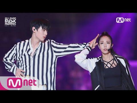 *完整版舞蹈* 從影片可以直接感受到寶兒的氣勢跟旼炫的羞澀!不過俊男美女的組合希望未來能再有合作舞台阿~~