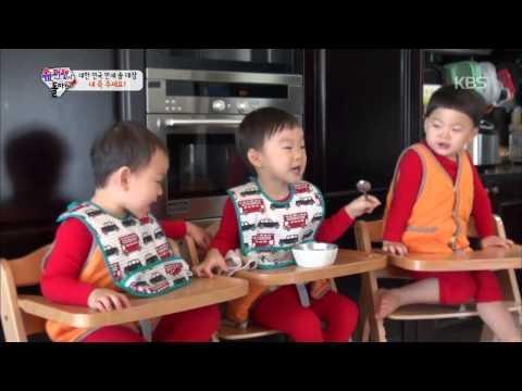 前兩年在韓國颳起親子實境節目風,而《我的超人爸爸》中除了三胞胎「大韓民國萬歲」在節目播出之後,以天真善良的樣子獲得超高人氣