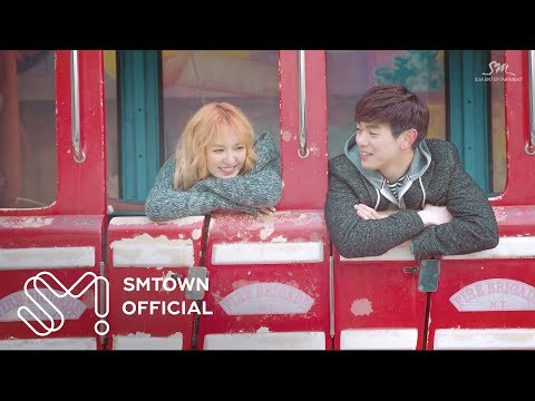 8.Eric Nam則是推薦自己和Wendy合作的<Spring Love>