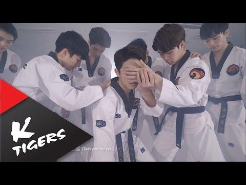 而除了照原版本「複製貼上」的cover之外,韓國也有像是跆拳道結合舞蹈的表演團體,相信這些小鮮肉粉絲們也多少都有看過,他們就是「K-TIGERS」,他們cover的歌真的每一首都超帥啊!