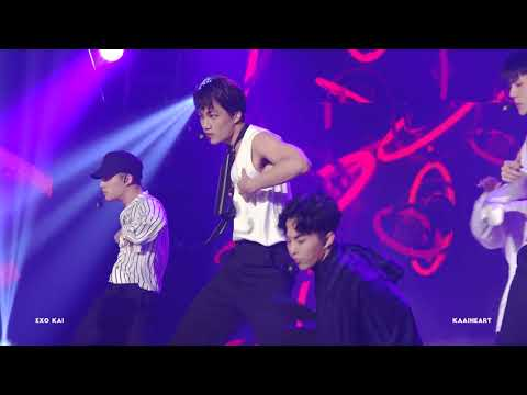 # EXO - KAI KAI的好身材+舞蹈曲線+前夜=危險大爆發啦!看看那手臂~~~