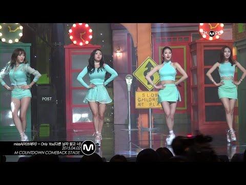 Miss A造型師則是在《Only You》打歌期只讓秀智穿運動鞋,原因是因為秀智腳踝不舒服,不能穿高跟鞋跳舞