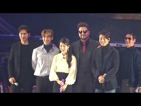 演唱會嘉賓除了大勢女團 TWICE 外,還邀請到了IU從出道以來就一直非常喜歡的男團 g.o.d 來擔任驚喜嘉賓,也讓 IU 覺得相當感動