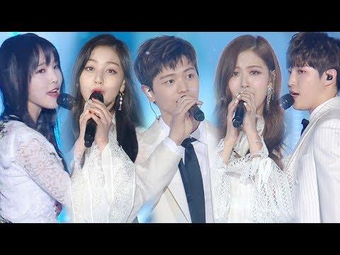 2018 SBS歌謠大戰預計會有EXO、防彈少年團、Wanna One、TWICE、善美、BLACKPINK、MAMAMOO等20個團體出演。大家還記得去年有各家藝人的合作舞台嗎?只有在年末才能看到這種組合!大家如果聖誕節還沒有行程,就可以來守著《SBS歌謠大戰》的直播!