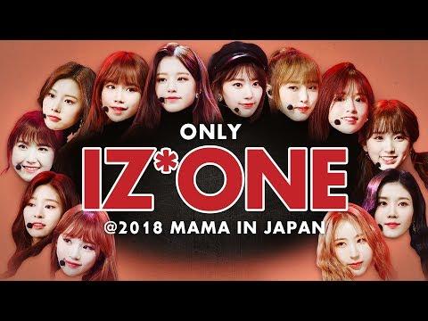 *點擊觀看 IZ*ONE《2018 MAMA FANS' CHOICE in JAPAN》全紀錄