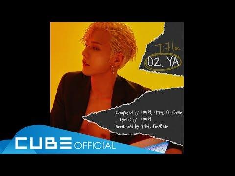 日前在youtube頻道上也已經放出了整張專輯音源試聽的影像囉!11首歌曲都包含了旼赫的心血,果然是信聽BTOB啊!還沒聽過的粉絲趕快來去聽聽看吧!