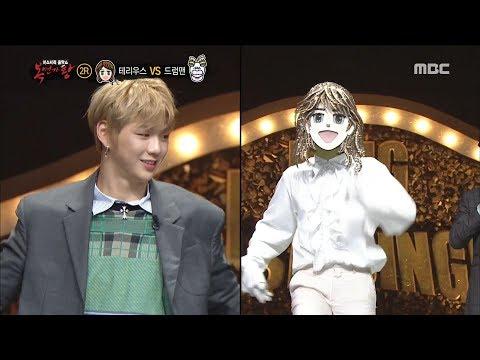 姜丹尼爾在旼炫參賽的時候也出演節目擔任審查團,旼炫開了舞蹈教室教姜丹尼爾跳H.O.T的<Candy>,姜丹尼爾還邀請旁邊的Drum Man一起跳,最後屁股咚咚咚的也太可愛了吧ㅠㅠ