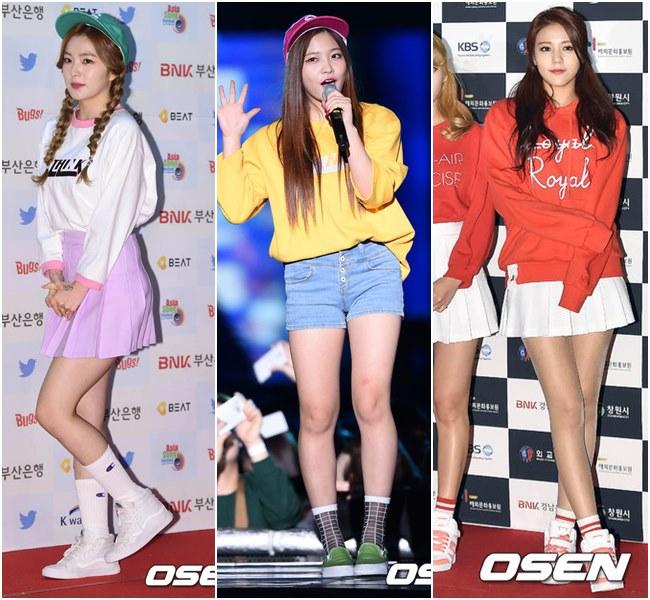 韓女團終於帶起一波有人情味的穿搭趨勢!高矮胖瘦都能駕馭!