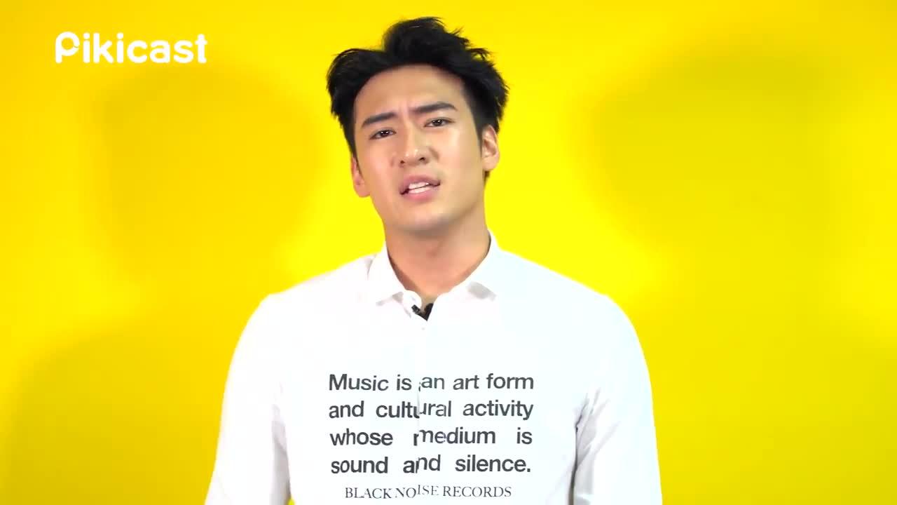 就連這回在韓語出道的歌曲也都非常認真的揣摩咬字,以全韓文的形式發片,確實是有下苦心呢!而且他在接受Pikicast採訪這天不僅清唱了這次韓語專輯中的抒情主打《some kinds of love》