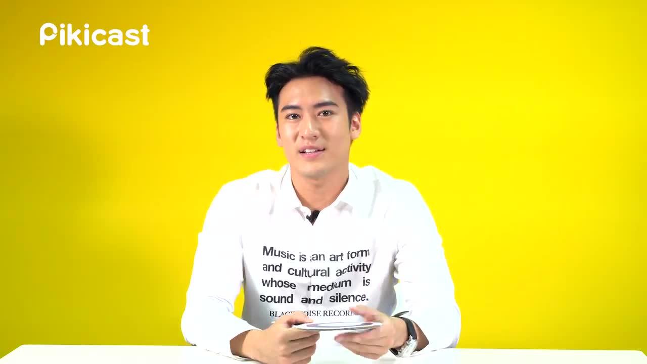 還小秀了一段Kris最喜歡的韓國歌手BIGBANG太陽的《Eyes, Nose, Lips》,就連選曲也很有Sense呢!