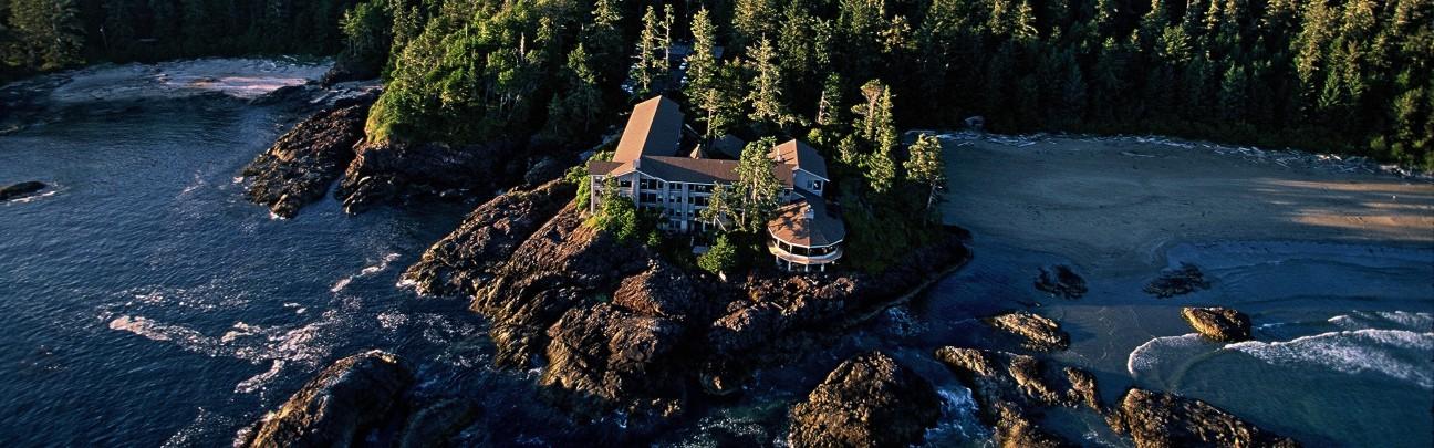 6.維克安寧尼西酒店位於北美大陸(加拿大)  可以觀賞太平洋的全景