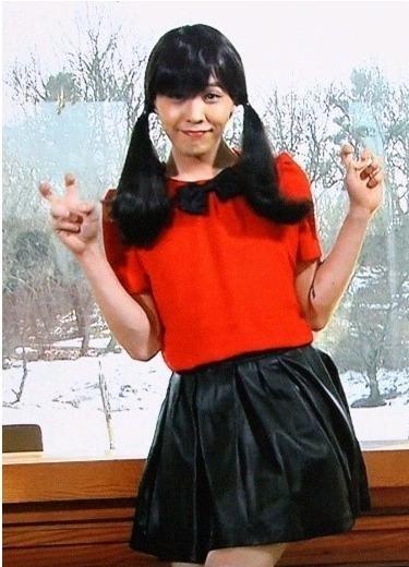 BIGBANG 權志龍 Girl's Day珉娥是你嗎?