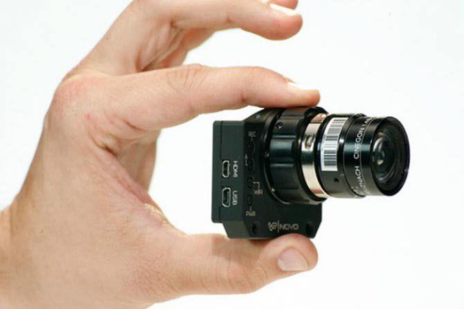手掌般大小的照相機 只要利用wifi即可拍出4K解析度