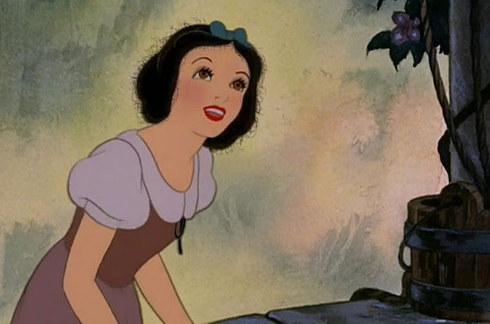 為什麼白雪公主不會毛燥啊~