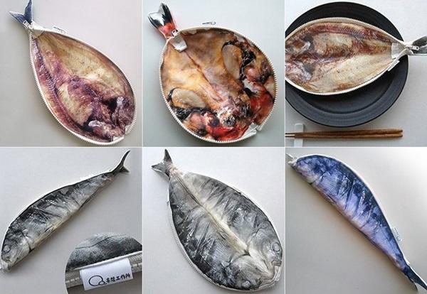 還有一種是鮮魚筆袋
