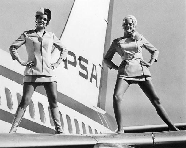 航空業是50、60年代的新興行業, 空姐更是當年女孩子們最嚮往的職業