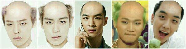 上次愚人節說BIGBANG回歸造型大公開 被小編標題騙進來看照片的親估(韓文