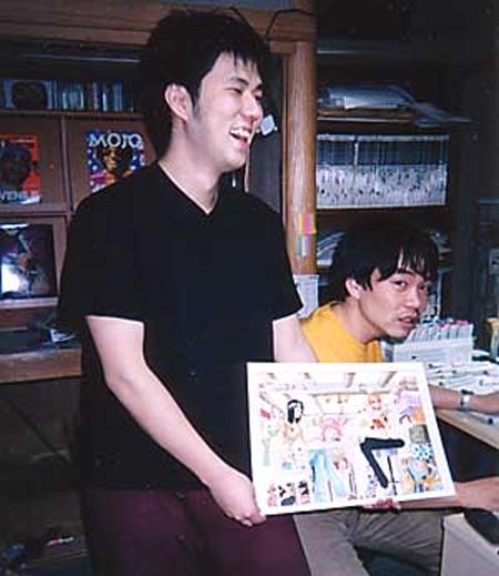 在日本是少數可以賣超過1億本單行本的漫畫家