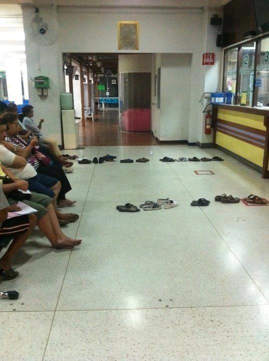 泰國人的排隊法
