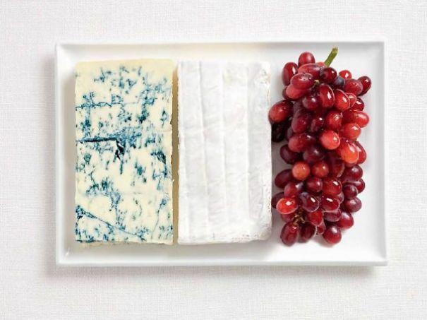 5. 法國 - 藍起司、布利乳酪、葡萄