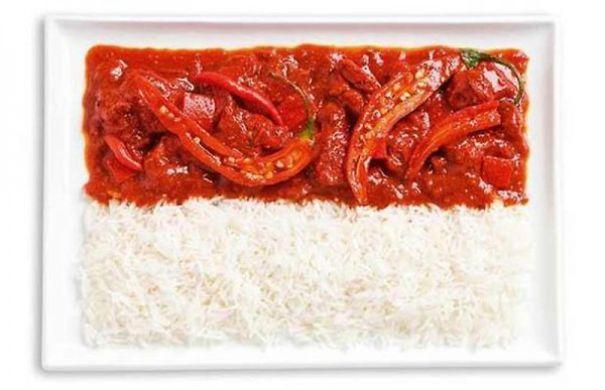 13. 印尼 - 辣咖哩、米飯