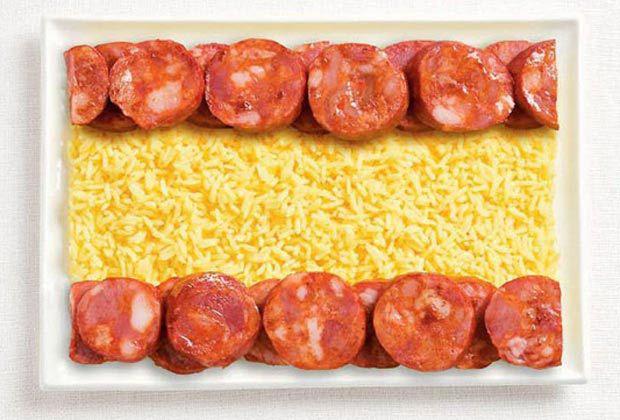17. 西班牙 - 香腸、米飯