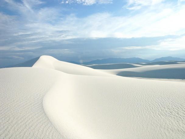 它位於美國新墨西哥州的白沙國家公園(White Sands National Monument)