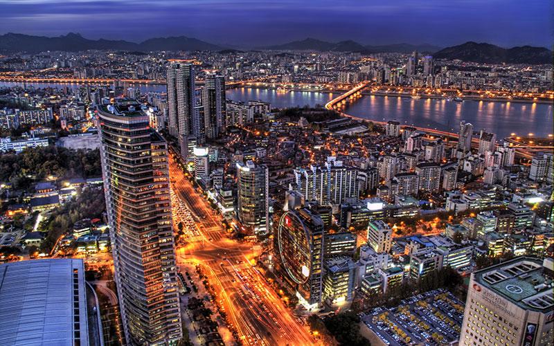 ▣ 第6名. 首爾(南韓首都) 2010年還是第8,4年後已經快擠進前五了~ 比較高的排名是交通第5、研究開發第6 就算是排名最差的宜居性,也排名高達23 整體分數都很高 (經濟11、自然環境11、文化交流12)