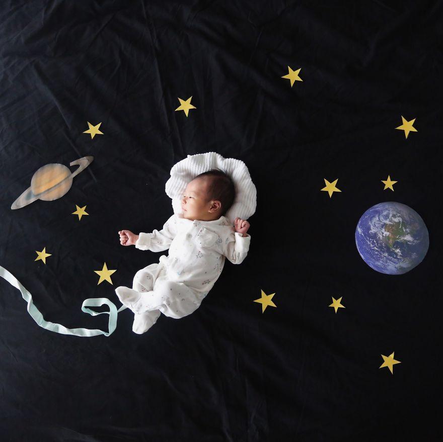 新生兒長大超快der~ 每個父母都想要記錄寶貝孩子的成長瞬間
