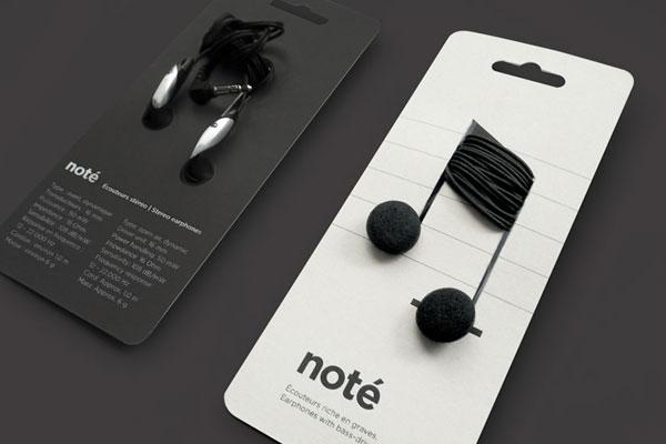 4. 隨身攜帶型耳機 包裝都還沒拆,就感覺聽到了音樂 ♬.