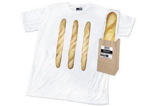 20. T-Shirt 當成麵包賣一樣~吃貨肯定受不鳥XDD
