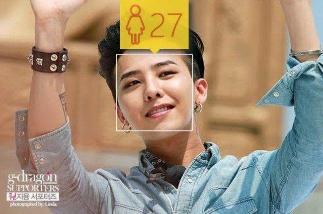 性別錯亂組  BIGBANG G-Dragon 27歲女性的臉龐 實際年齡26、男