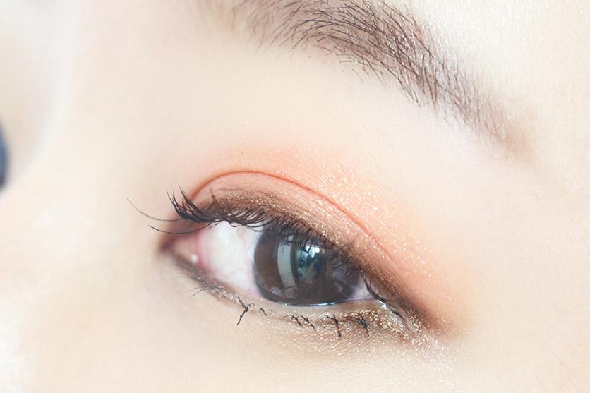 將將~完成的樣子出爐!! 其實過程很簡單的~♥ 眼影顏色的搭配才是最重要的喔~♥