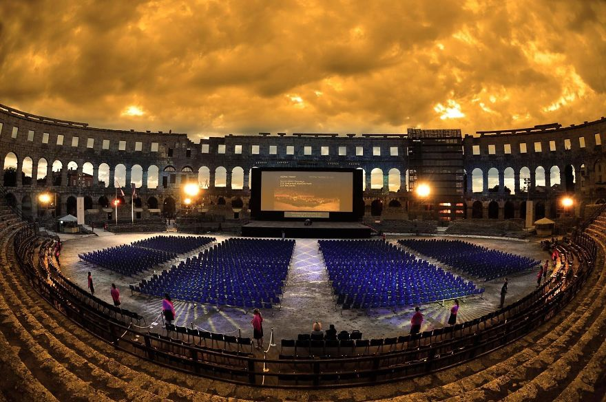 #7 克羅埃西亞 古羅馬競技場影院