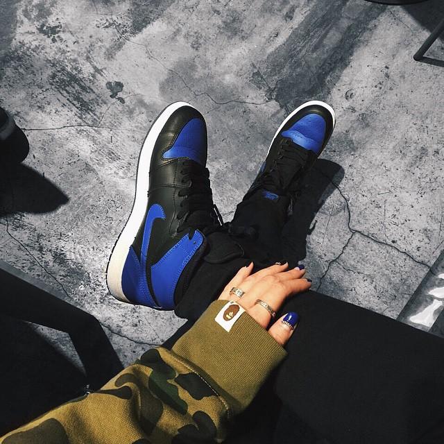 AJ1 royal blue