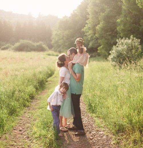 希望Libby、珍珠、琳賽一家 都要一直幸福的、健康的長大唷♥