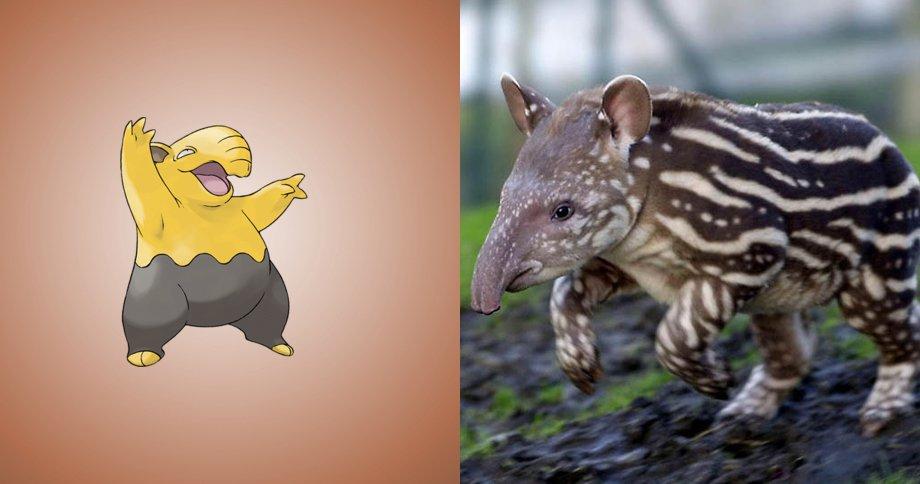 9. 索利柏 原型:馬來貘,雖然他像豬又像象,被說是四不像動物,但仔細看其實也滿可愛的嘛~